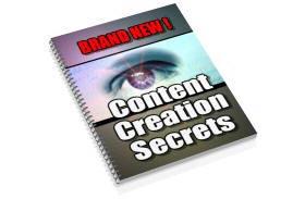 Content Creation Secret