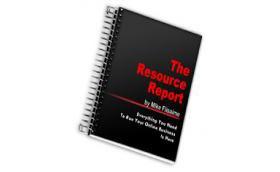 Resource Report