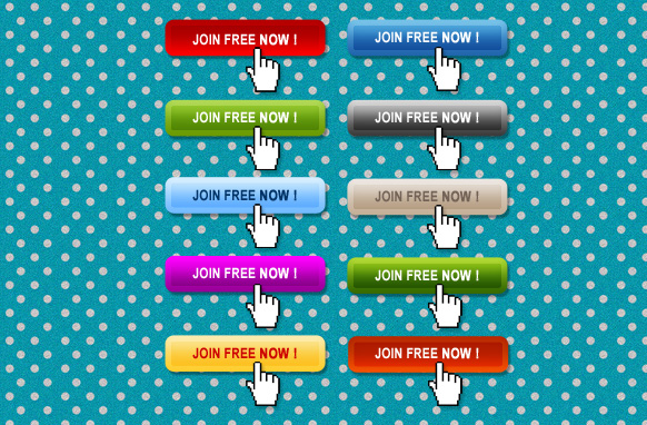 10 Stylish Join Free Now Buttons PSD