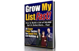Grow My List Fast