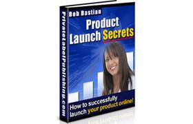 Product Launch Secrets