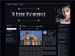 A Fine Romance WP Theme Edition 3