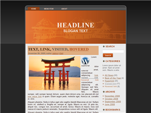 Asian Travel WP Theme