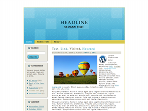 Balloons WP Theme