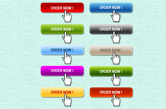 10 Stylish Order Now Buttons PSD