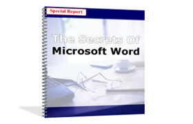 The Secrets Microsoft Word