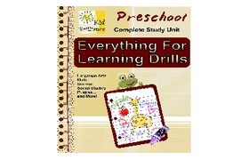 Preschool Everything For Learning Drills