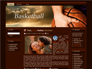 Basketball WP Theme