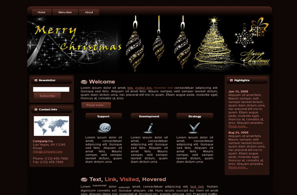 Christmas WP Theme Edition 2