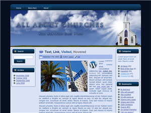 Church WP Theme Edition 1