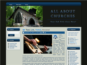 Church WP Theme Edition 3