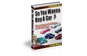 So You Wanna Buy A Car