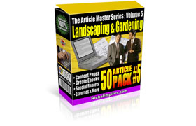 The Articles Masters Series Vol 4 Gardening