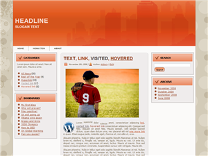 City Boy WP Theme