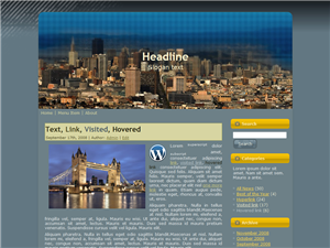 City File WP Theme