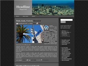 City Signs WP Theme