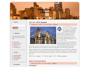 Cityscape Theories WP Theme