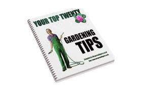 Top 20 Gardening Tips