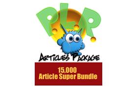 15,000 PLR Article Super Bundle