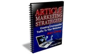 Article Marketing Strategies