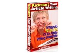 Kickstart Your Article Writing