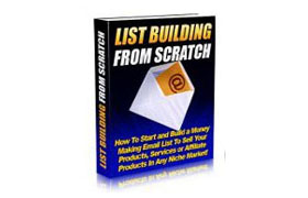 List Building From Scratch