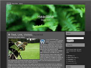 Golf Lawn WP Theme