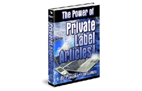 The Powerful Private Label Articles