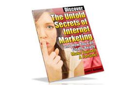 Untold Secrets of Internet Marketing