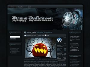 Halloween Sorceress WP Theme