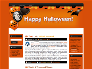 Halloween WP Theme Edition 1