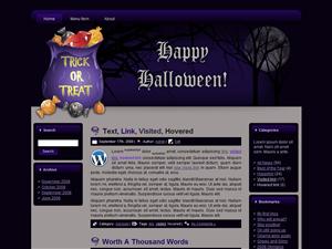 Halloween WP Theme Edition 2
