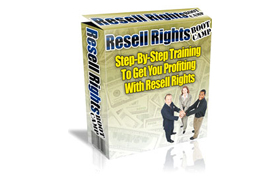Resell Right Boot Camp