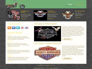 Harley Bikes WP Theme