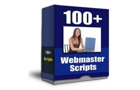 100+ Webmaster Scripts