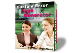 Customer Error page Generator