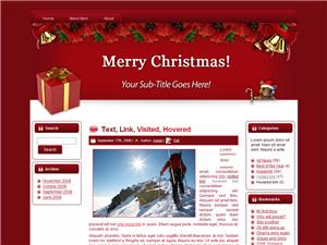 Theme For Christmas Blogger Theme