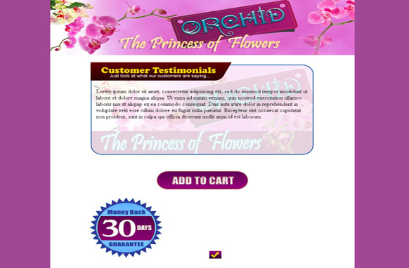 Themes Orchid HTMLTemplate