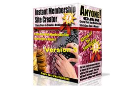 Instant Membership Site Creartor V3