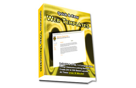 Quick and Easy Web Templates