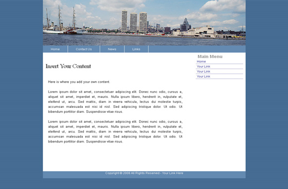 Travel HTML Template Edition 2