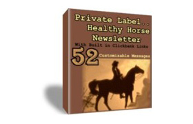 52 Private Label Healthy Hourse Newletters