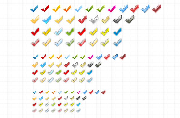 Alsorts Colored Arrows Set Edition 2 PSD