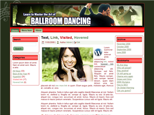 Ballroom Dancing WP Theme Edition 4