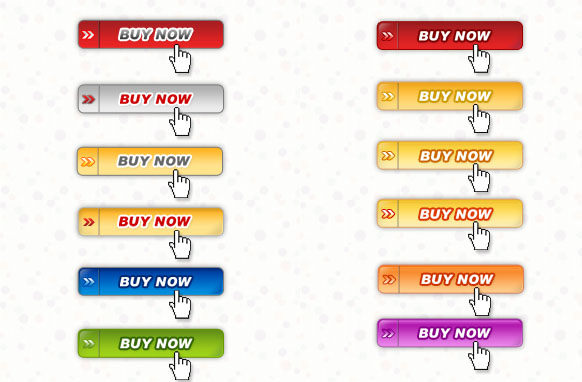 12 Buy Now Buttons PSD