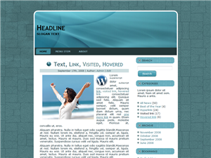 Blue Mind WP Theme