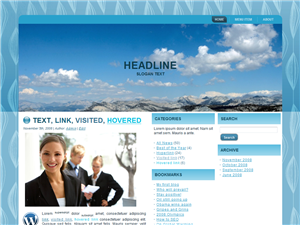 Blue Mountains WP Theme