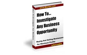 How To Investigate Any Business Opportunity