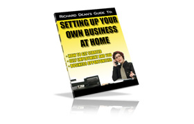 Setting Up Your Own Business At Home