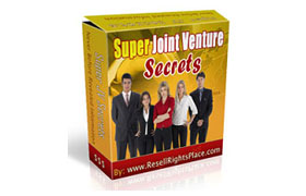 Super Joint Venture Secrets